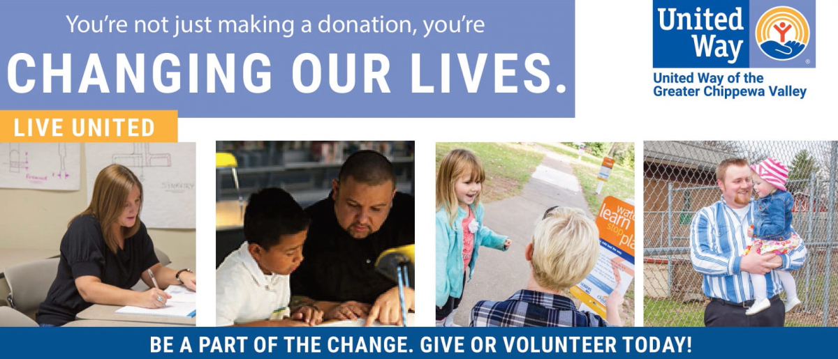 2021 United Way of the Greater Chippewa Valley Brochure