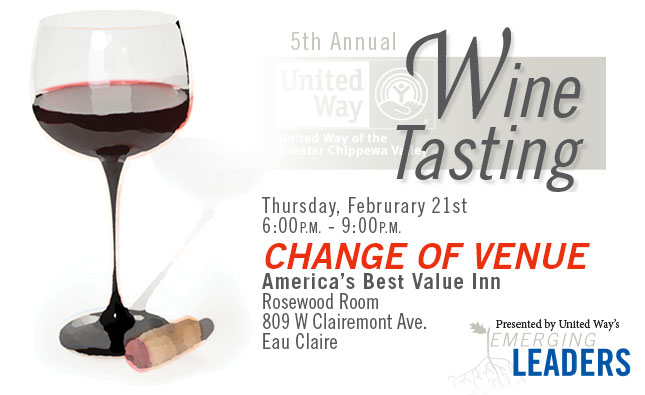 5th Annual United Way Wine Tasting
