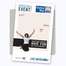 United Way of the Greater Chippewa Valley General Event Poster