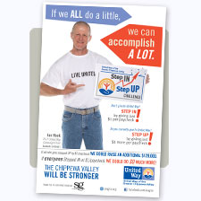 United Way of the Greater Chippewa Valley Campaign Poster