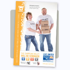 United Way of the Greater Chippewa Valley Income Initiative Poster
