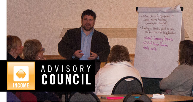 United Way Income Advisory Council