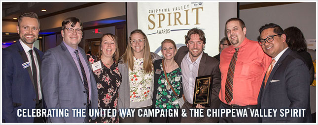United Way of the Greater Chippewa Valley Celebrates Community Leaders at Chippewa Valley Spirit Awards